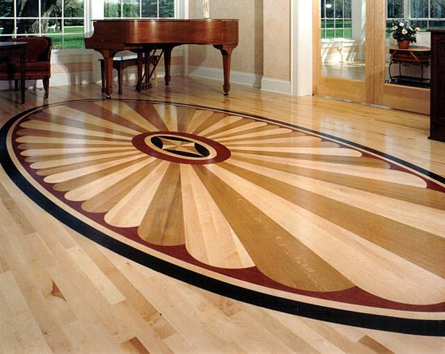 selection of hardwood prefinished engineered and laminate floors
